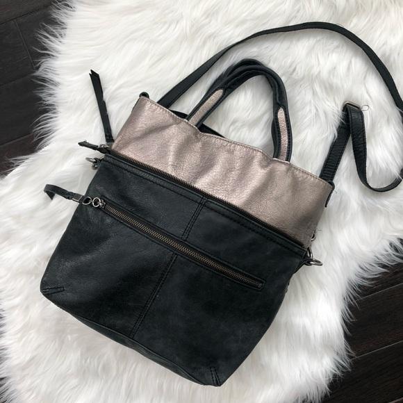 TheSak Black Soft Leather Metallic Convertible Bag.  M 5b9d08ce819e9003e197d7eb. Other Bags you may like 24962467f0
